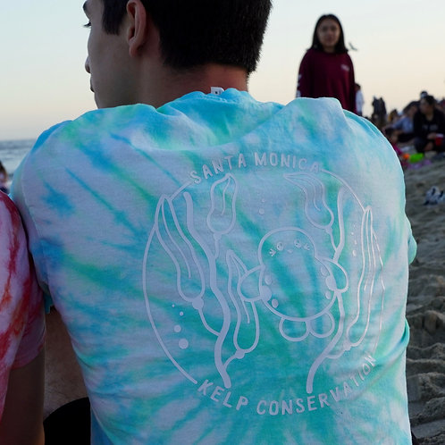 Santa Monica Kelp Forest Tie-Dye Shirt - Short Sleeve