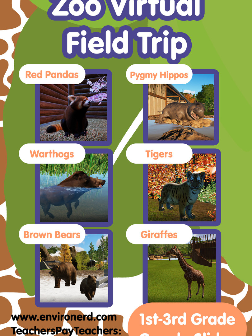 Zoo Virtual Field trip by Environerd