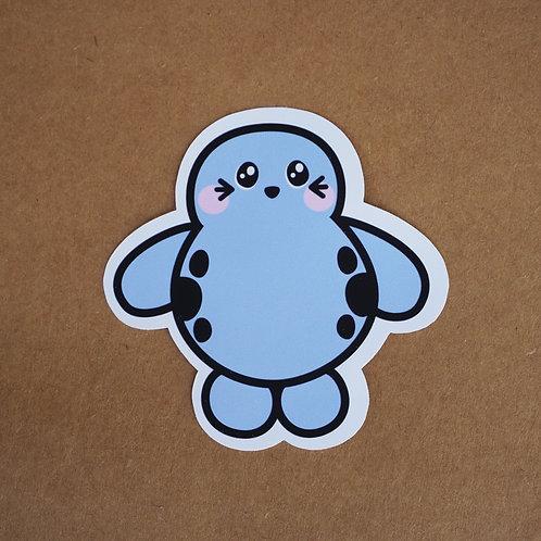 Harbor Seal Sticker - Weatherproof