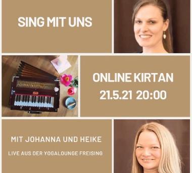 ONLINE Kirtan - Sing mit uns! mit Johanna und Heike