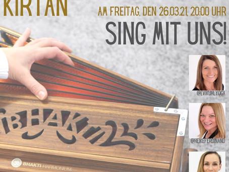 ONLINE Kirtan - Sing mit uns! mit Heike, Evi und Karin