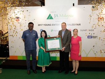 Junior Achievement officially launched in Malaysia