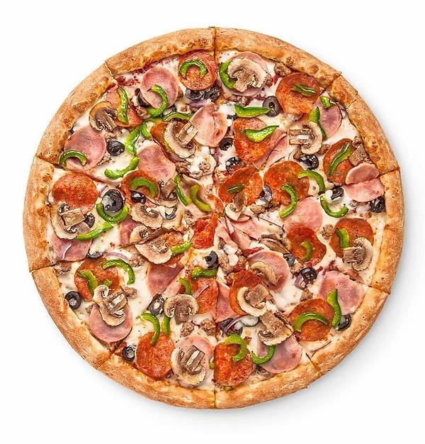 Пицца нарезанная