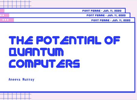 The Potential of Quantum Computers - Aneeva Murray