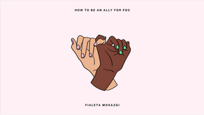 How to Be an Ally for POC - Fialeta Mosazgi