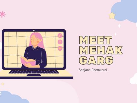 Meet Mehak Garg, Founder of Coding4Kids—Sanjana Chemuturi