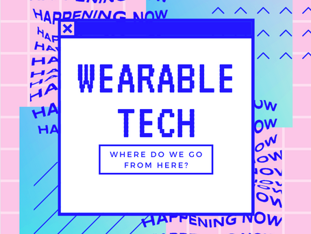 Wearable Tech: Where do we go from here?–Catherine  Rasgaitis