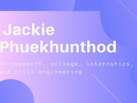 Feature Article: Jackie Phuekhunthod - Shannon Wu