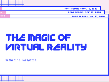 The Magic of Virtual Reality - Catherine Rasgaitis