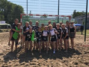 wB-Jugend holt sich auf dem Beach in Waldsee die ersten beiden Plätze