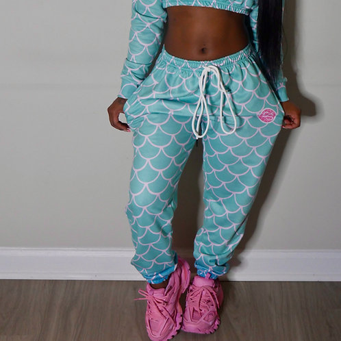 Turquoise Jogger (Bottoms Only)