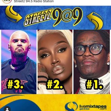 FunGirl Jah Jah Radio Charts