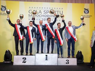 Gala Sportu Samochodowego 2019- najwyższe trofea dla zespołu SKODA Polska Motorsport