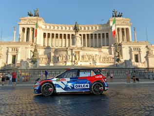 1 runda Mistrzostw Europy Fia ERC- Rally di Roma Capitale