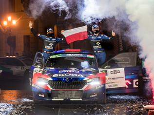 Kolejne cenne punkty po Rajdzie Węgier dla załogi Orlen Team