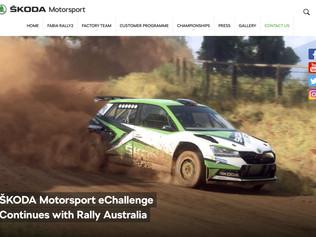 Miko Marczyk globalnym ambasadorem Škoda Motorsport eChallenge