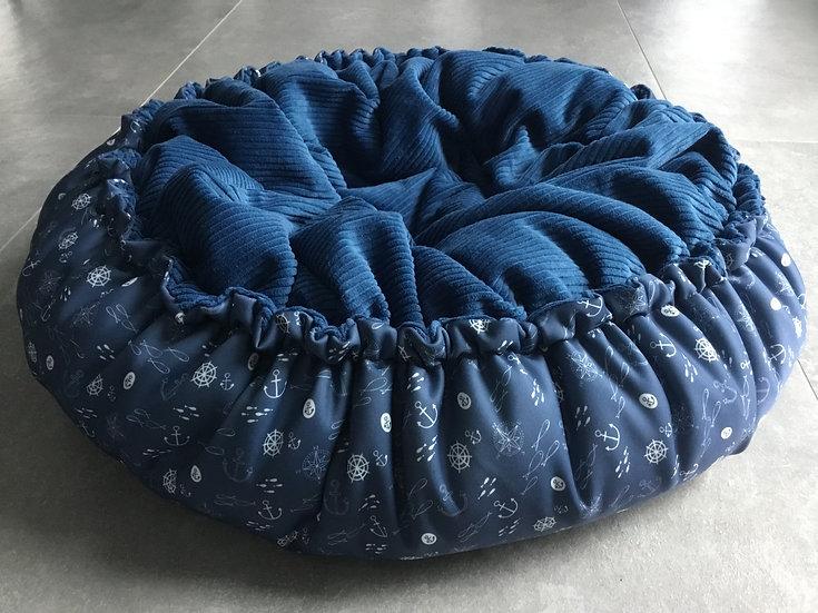 blau Maritim/ blau Breitcord Gr.M