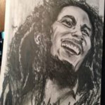 """Portrait: 16""""x 24"""" Charcoal on paper $100 Addl. heads $30"""