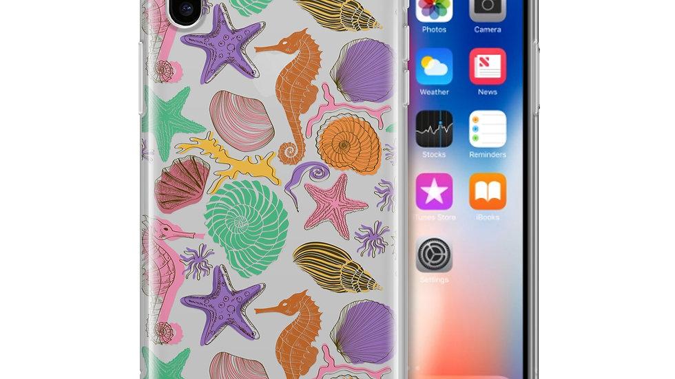 Sea Life - Clear TPU Case Cover