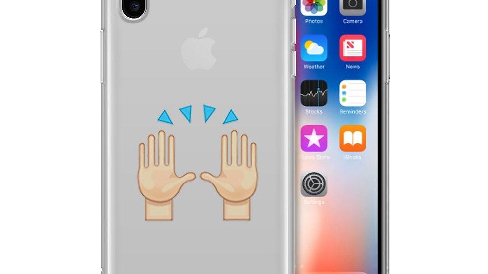 Hallelujah Emoji - Clear TPU Case Cover