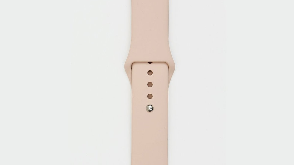 Silicone Apple Watch Band - Pink