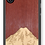 Thumbnail: Slim Wooden Phone Case (Mt. Rainier Purple Heart Sky)