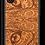 Thumbnail: Slim Wooden Phone Case (Mahogany Engraved Cat Eyes)