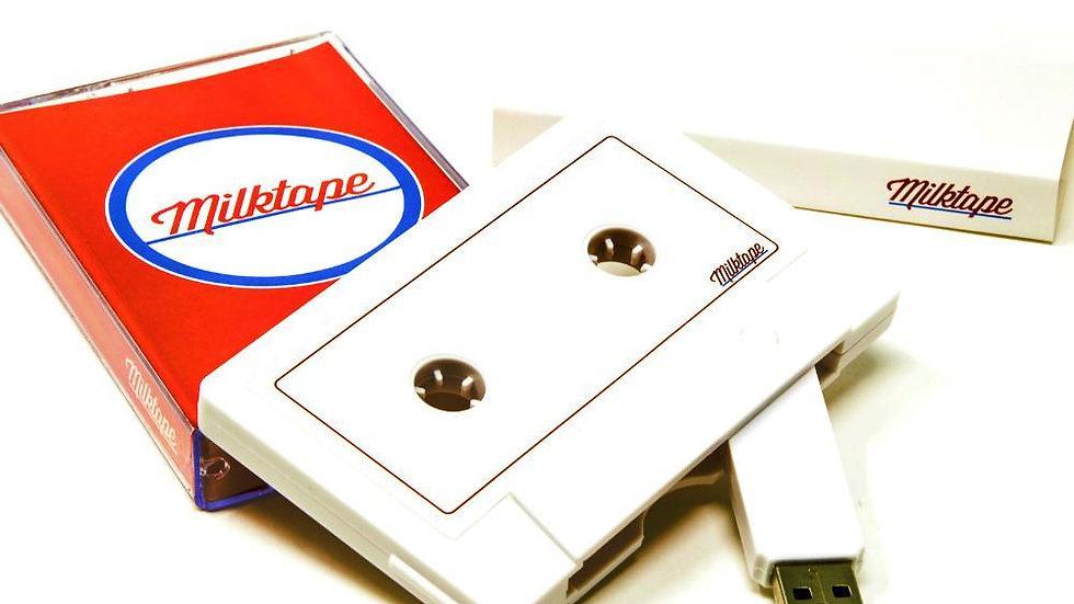 USB Mixtape - Cassette Tape Flash Drive by Milktape (128MB, 16GB)