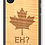 Thumbnail: Slim Wooden Phone Case - Canada Eh? In Shimmering Maple