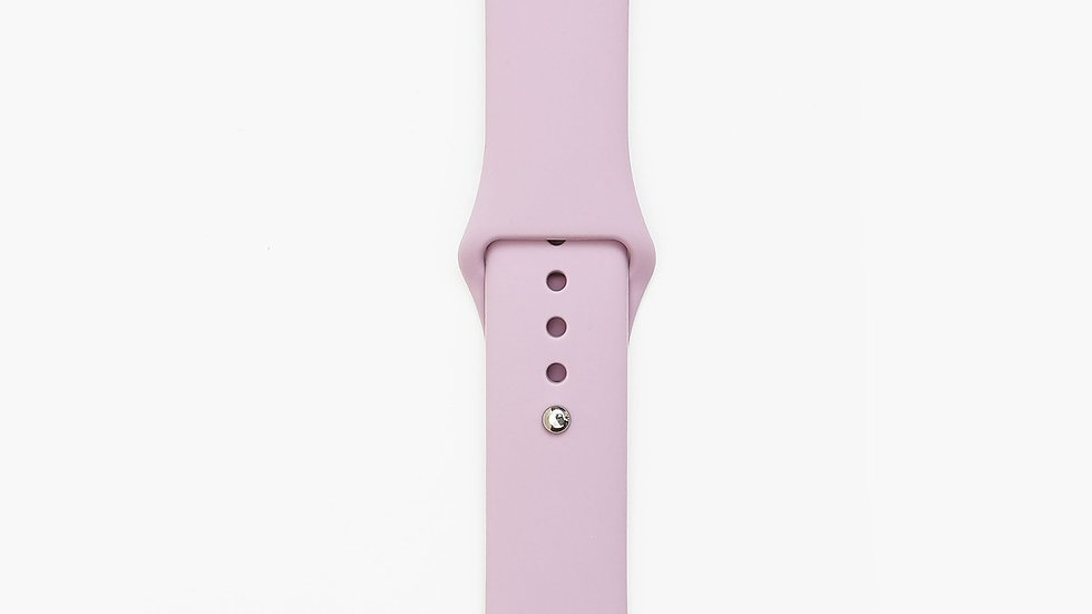 Silicone Apple Watch Band - Purple