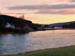 Winter Dawn Loch Tummel