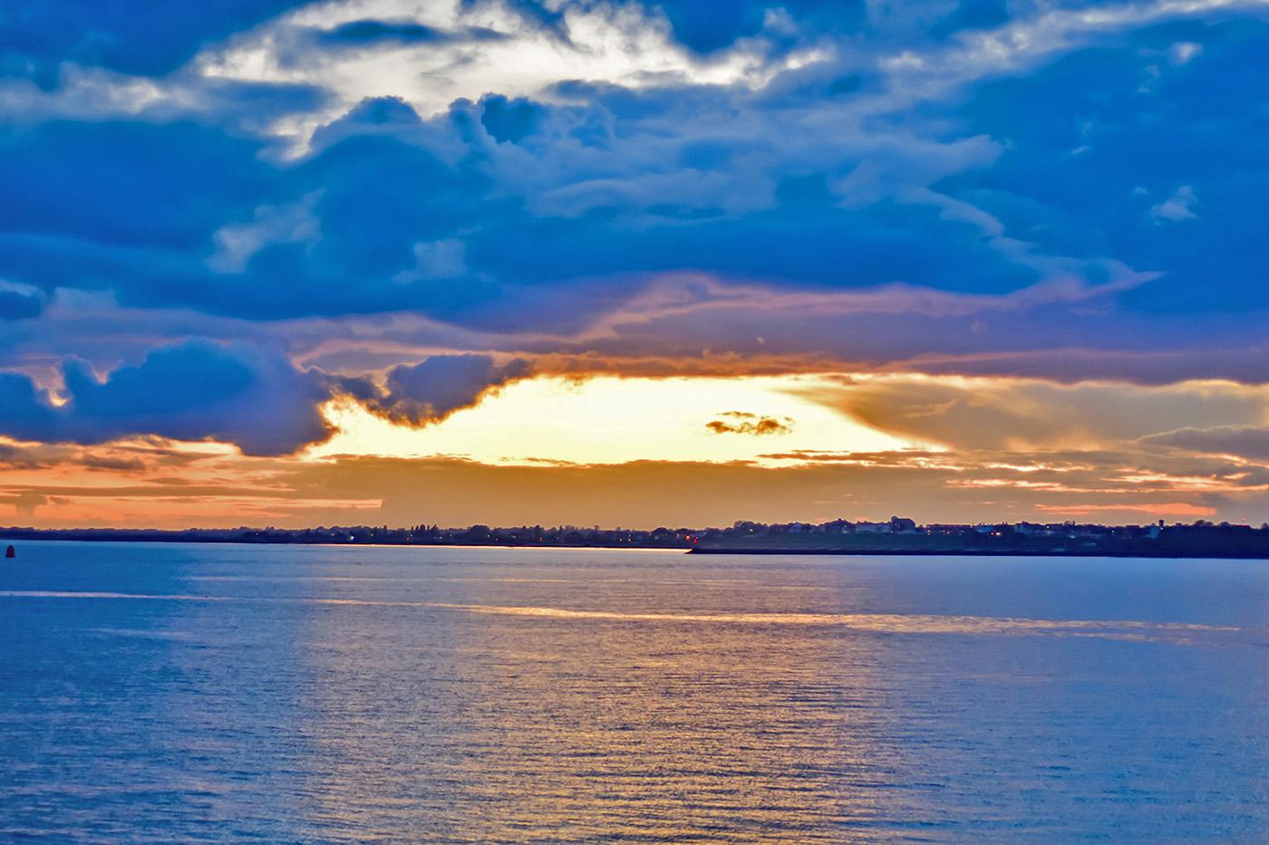 Landguard Sunset