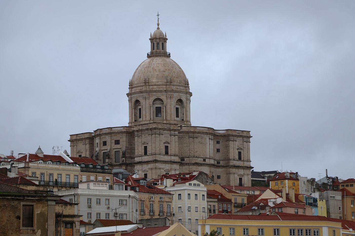 The Baroque Panteao Nacional, Lisbon