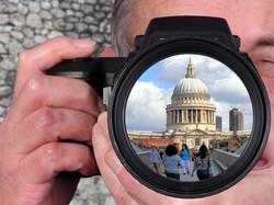 Reflection of St Pauls