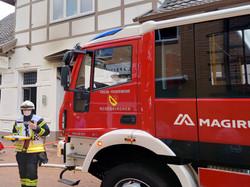Fire Engine on the Job