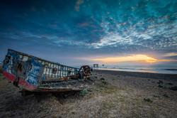 Old Blue Boat
