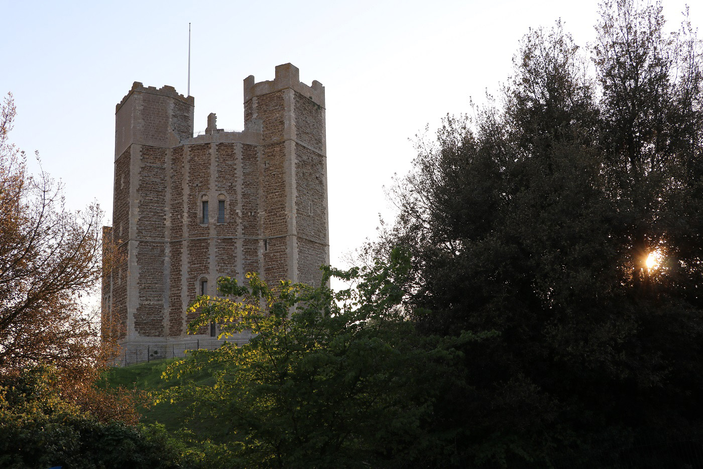 Twilight at Orford Castle