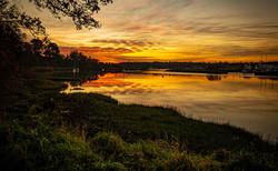 Deben Sunset