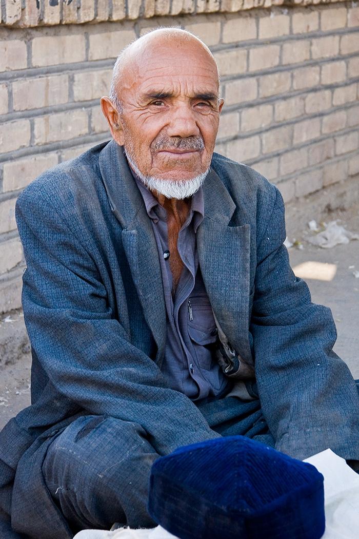 Uzbek Market Trader, Khiva