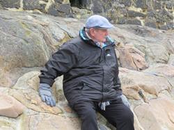Rex on the Rocks