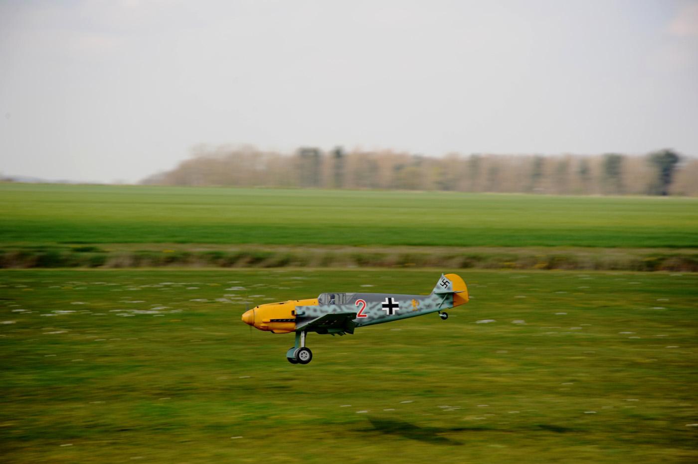 Model Messerschmitt 109