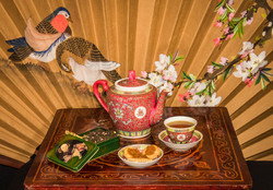 Tarts and Tea for Chinese New Year