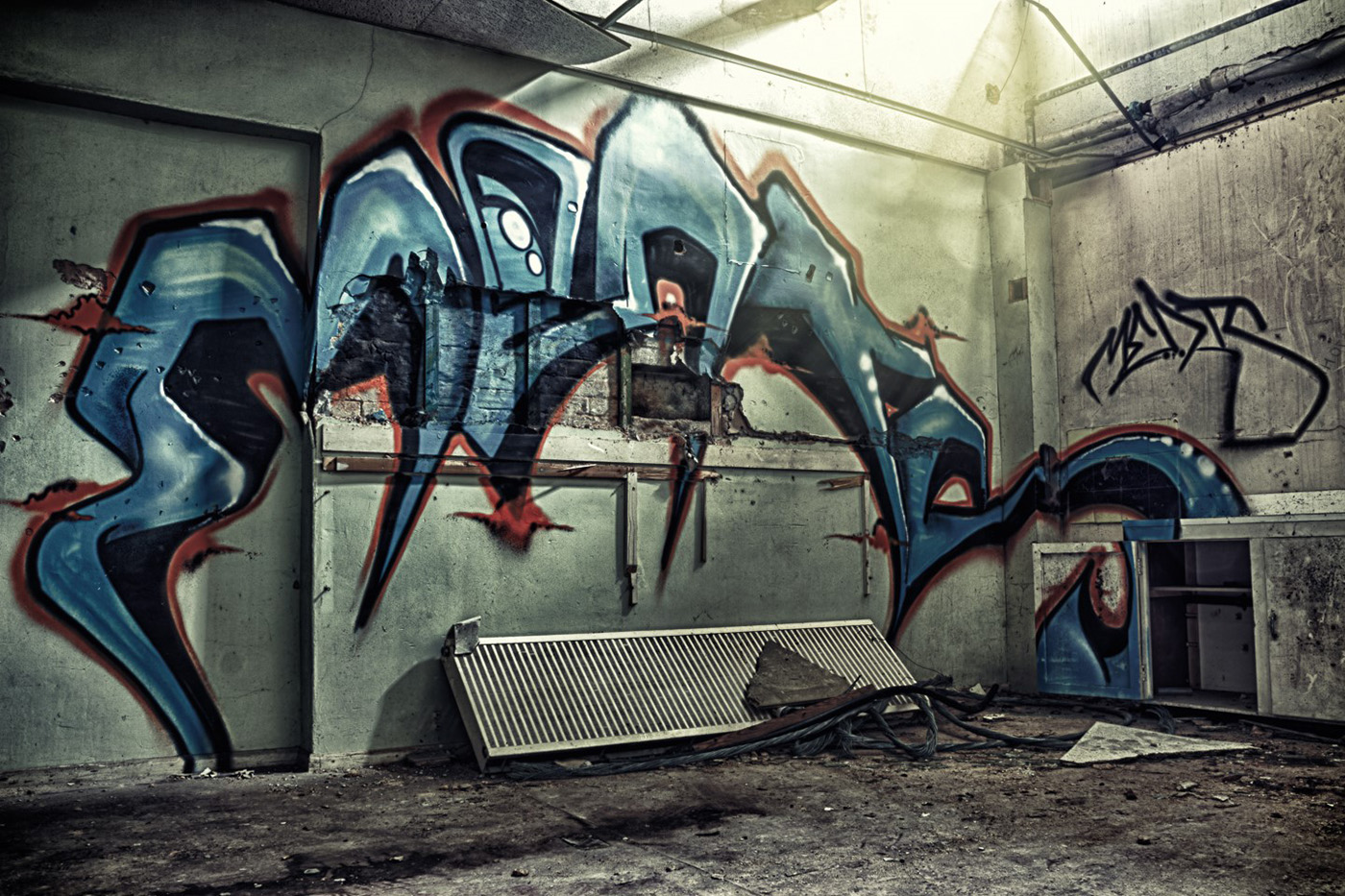 Heckingham Graffiti