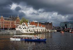 Stormy Skies over Amsterdam