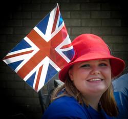 Flying the Flag for V.E. Day