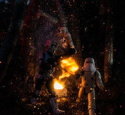 Storm Troopers under Attack