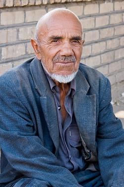 Uzbek Market Trader