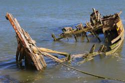 Wreck on the River Deben