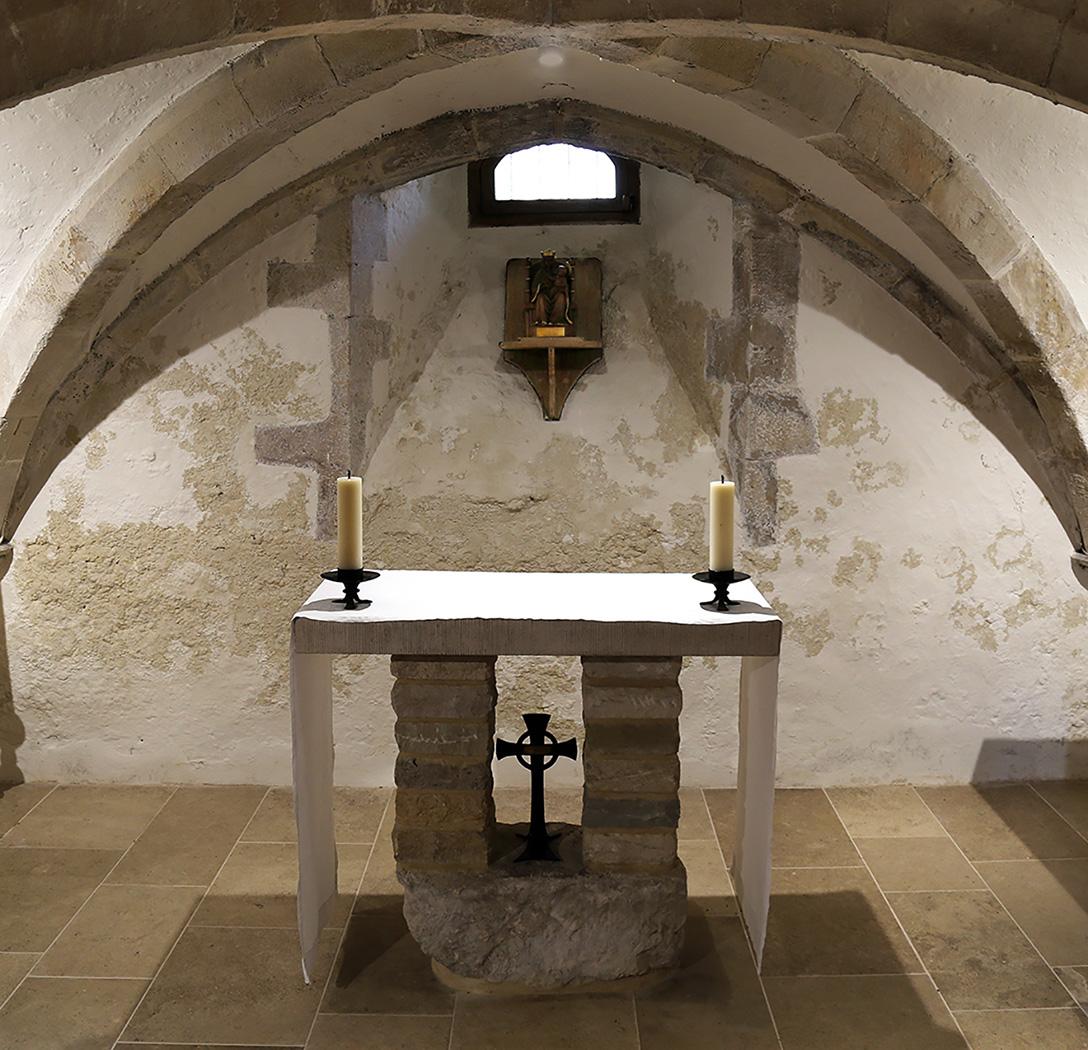 Bosham Crypt