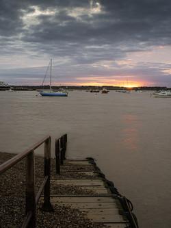 Sunset at Bawdsey